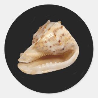 De Sticker van Shell van de kroonslak