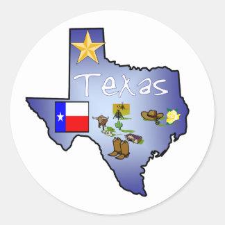 De Sticker van Texas