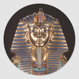 De Sticker van Tut van de koning