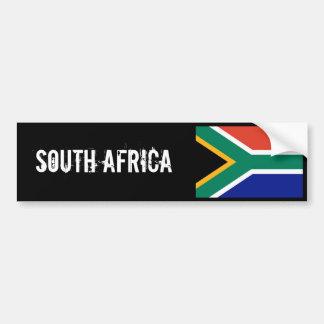 De sticker van Zuid-Afrika bumber Bumpersticker