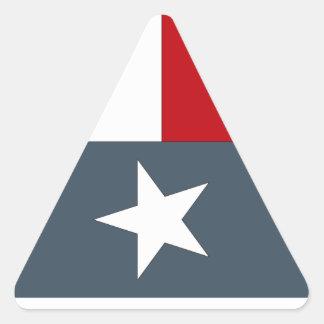 De sticker verdween het Blauwe Eenzame Hart Texas