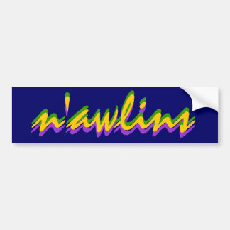 De Sticker Visuele NOLA New Orleans van de bumper