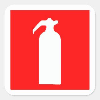 De Stickers/de Etiketten van het Brandblusapparaat
