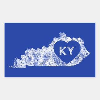 De stickers Gebruikte Staat van Kentucky van de