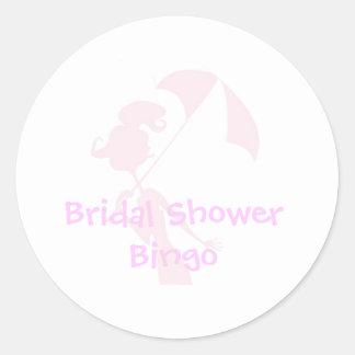 De Stickers van Bingo van het vrijgezellenfeest