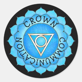 De Stickers van Chakra van de Chi van