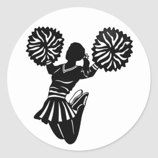De stickers van Cheerleader