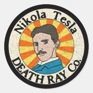 De Stickers van Co. van Ray van de Dood van Nikola