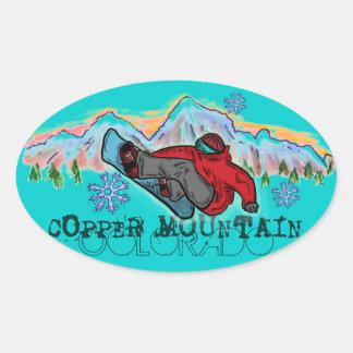 De stickers van Colorado van de Berg van het koper
