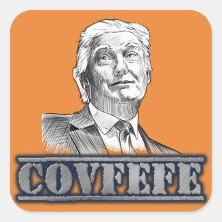 De Stickers van Covfefe