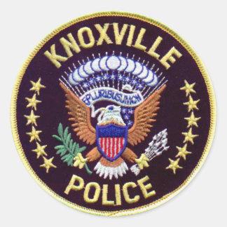 De Stickers van de Afdeling van de Politie van