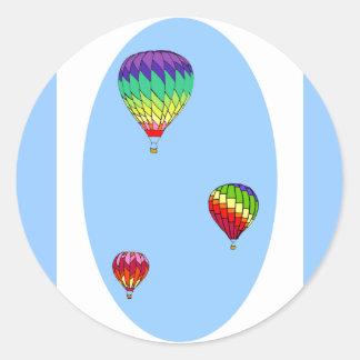 De Stickers van de Ballon van de hete Lucht
