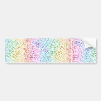De Stickers van de Bumper van de Beweging van