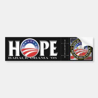 De Stickers van de Bumper van de hoop & van de Bumpersticker