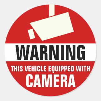 De Stickers van de Camera van de auto/van de