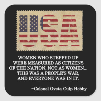 De Stickers van de Dag van de Veteranen van