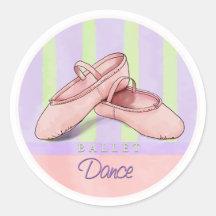 De stickers van de Dans van de Pantoffels van het