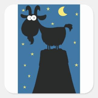 De Stickers van de Geit van Longhorn