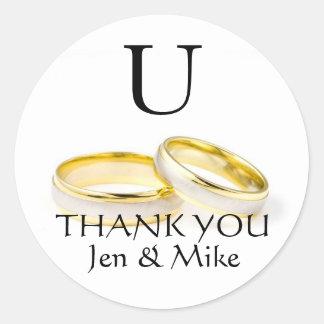 De Stickers van de Gunst van het huwelijk danken u