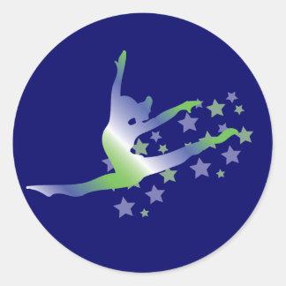 De Stickers van de Gymnastiek van meisjes