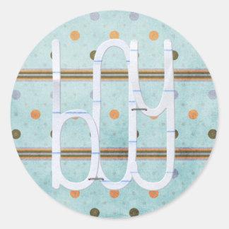 De Stickers van de Jongen van het baby