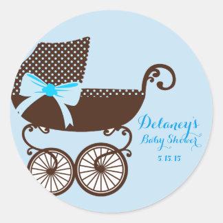 De Stickers van de Jongen van het baby shower