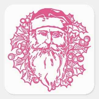 De Stickers van de Kerstman