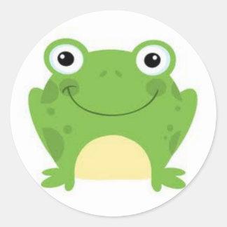 De Stickers van de kikker