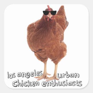 De Stickers van de kip!