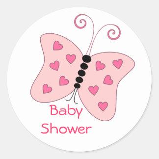 De Stickers van de Liefde van de vlinder