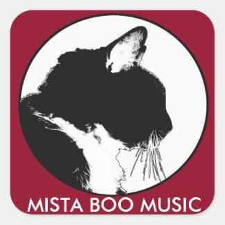 De Stickers van de MUZIEK van het BOE-GEROEP MISTA