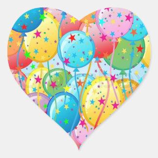 De Stickers van de Partij van de ballon