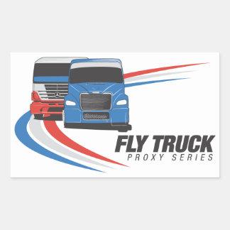 De Stickers van de Reeks van de Vrachtwagen van de