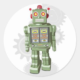 De Stickers van de Robot van het speelgoed