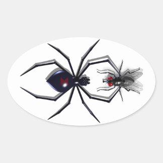 De Stickers van de spin & van de Vlieg