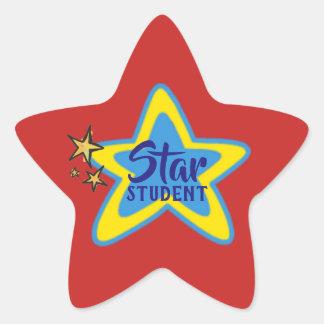 De Stickers van de Student van de ster