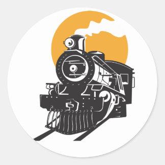 De Stickers van de Trein van de stoom