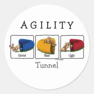 De stickers van de Tunnel GBU van de behendigheid