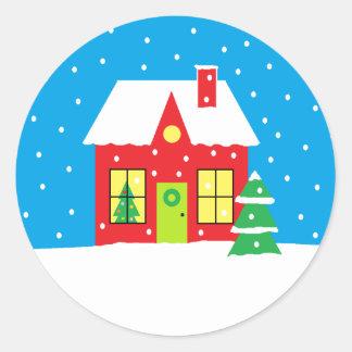 """De Stickers van de vakantie """"van het Huis"""""""