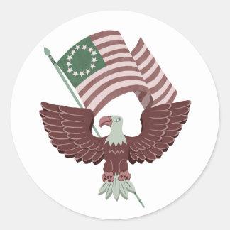 De Stickers van Eagle van de patriot