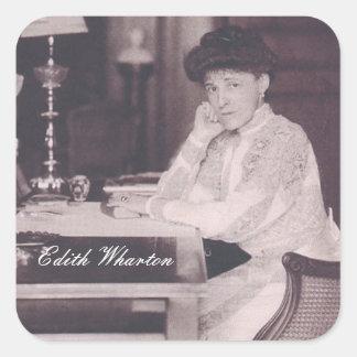 De Stickers van Edith Wharton
