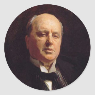 De Stickers van Henry James