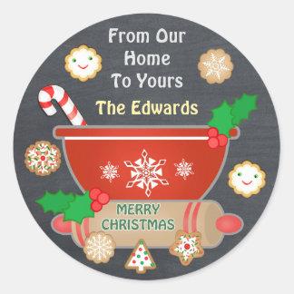 De Stickers van het Bord van Kerstmis van de