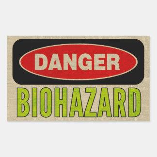 De Stickers van het Gevaar van Biohazard