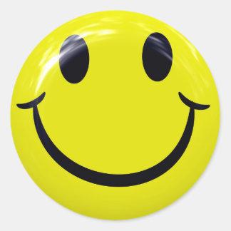 De Stickers van het Gezicht van Smiley