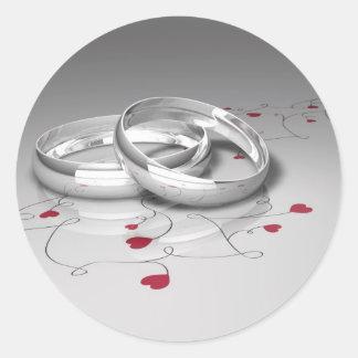 De Stickers van het huwelijk