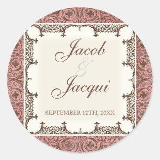 De Stickers van het huwelijk of van de Douche -