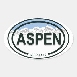 De Stickers van het Label van de Berg van Colorado