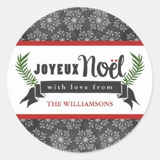 De Stickers van het Label van de Gift van de