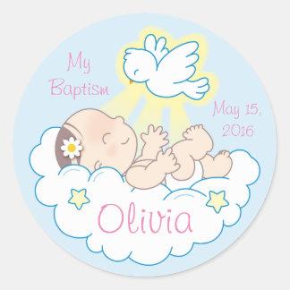 De Stickers van het Meisje van het Baby van het